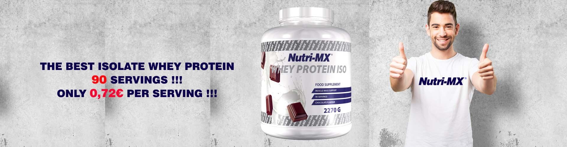 Nutri-MX Whey Protein ISO